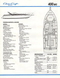 Chris Craft 400 Express Cruiser Brochure