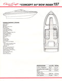 Chris Craft Concept Bowrider 197 Brochure