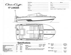 Chris Craft Lancer 17 Specification Brochure v2