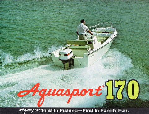 Aquasport 170 Brochure