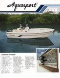 Aquasport 222 Center Console Professional Brochure