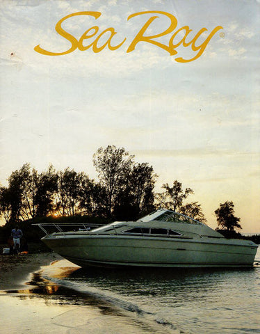 Sea Ray 1981 Full Line Brochure