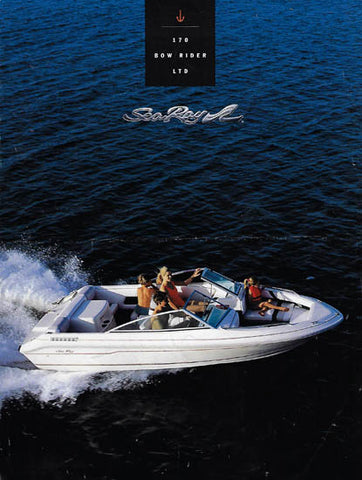 Sea Ray 170 Brochure