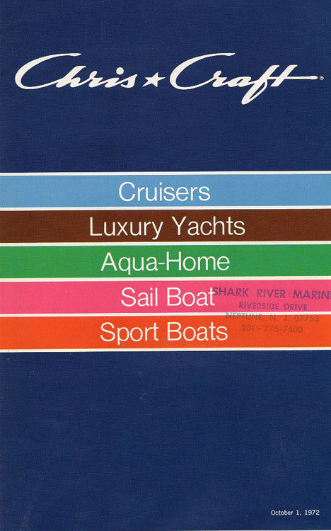 Chris Craft 1973 Full Line Brochure