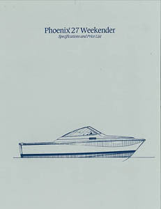 Phoenix 27 Weekender Specification Brochure