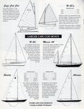 Cape Cod Sailboat Brochure