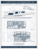 Fort Myers Custom 68 Trawler Brochure