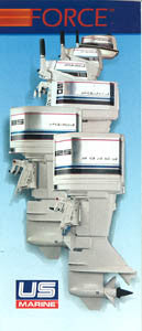 US Marine 1984 Force Outboard Abbreviated Brochure