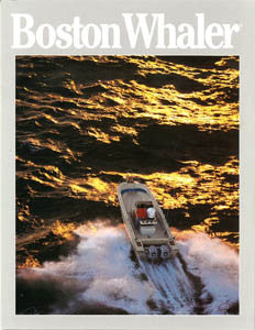 Boston Whaler 1988 / 1989 Abbreviated Brochure