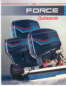 US Marine 1988 Force Outboard Brochure