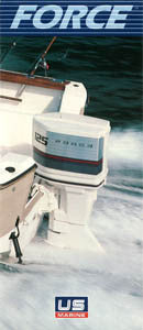 US Marine 1985 Force Outboard Abbreviated Brochure
