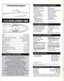 Aquasport 1998 Specification Brochure