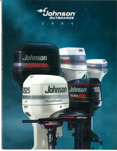Johnson 1994 Outboard Brochure