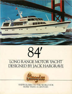 Cheoy Lee 84 Long Range Motor Yacht Brochure