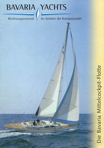 Bavaria 2000 Sail Center Cockpit Brochure