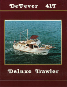 Defever 41 Trawler Brochure