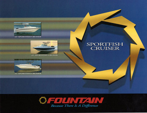 Fountain 1998 Sport Fish Cruiser Brochure