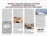 Luhrs 340 Sport Fisherman Brochure