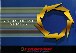 Fountain 1998 Sport Boat Brochure