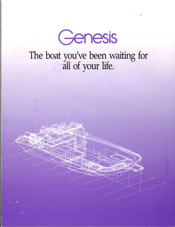 Wellcraft Genesis Deck Boat Brochure