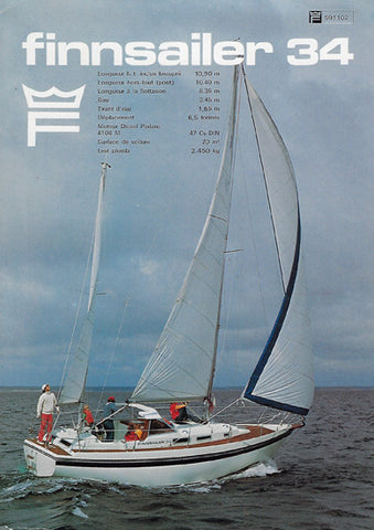 Finnsailer 34 Brochure Package (Digital)