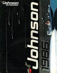 Johnson 1986 Outboard Brochure
