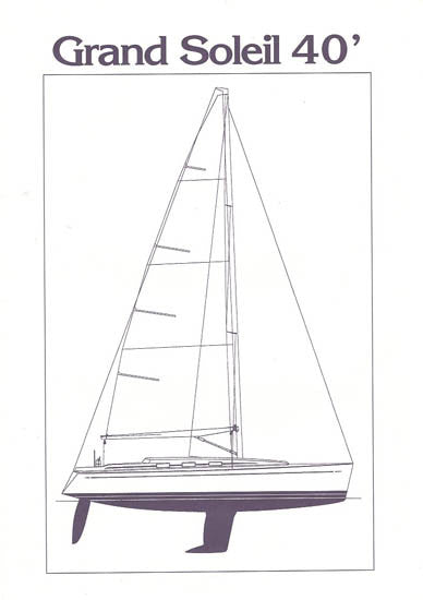 Grand Soleil 40 Specification Brochure