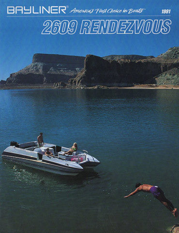 Bayliner Rendezvous 2609 Brochure