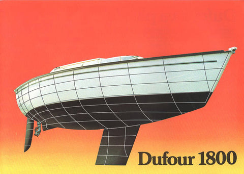 Dufour 1800 Brochure Package