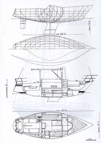 Dufour 27 Specification Brochure