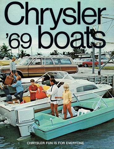Chrysler 1969 Boats Brochure