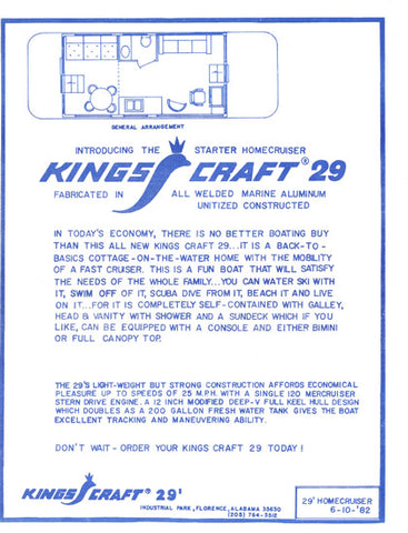 Kings Craft Specification Brochure