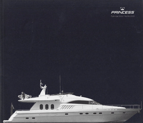 Princess 2000 Flybridge Motor Yacht Brochure