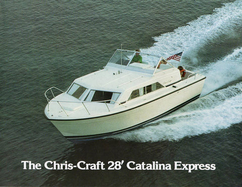 Chris Craft Catalina 28 Express Brochure