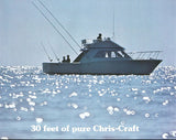Chris Craft Commander / Sportsman 30 Brochure