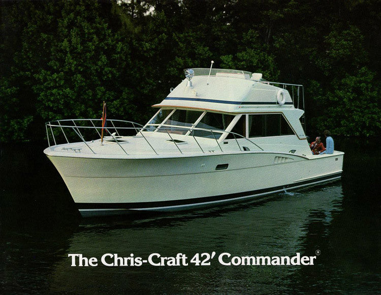 Chris Craft Commander 42 Brochure