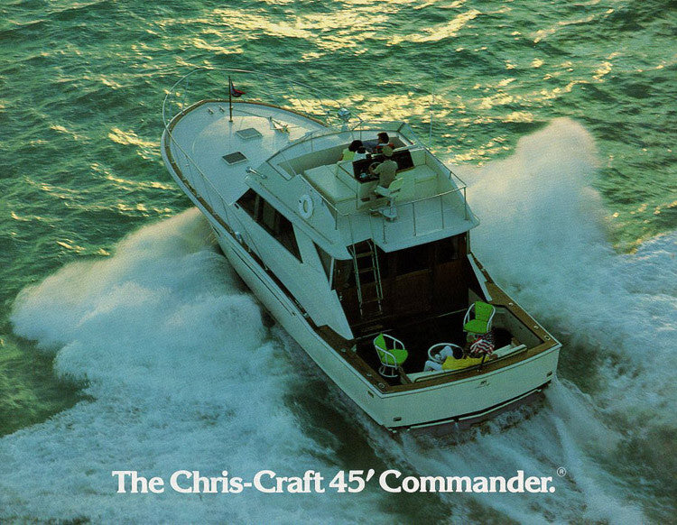 Chris Craft Commander 45 Brochure