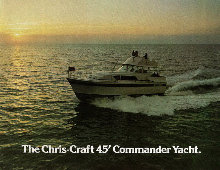 Chris Craft Commander 45 Yacht Brochure