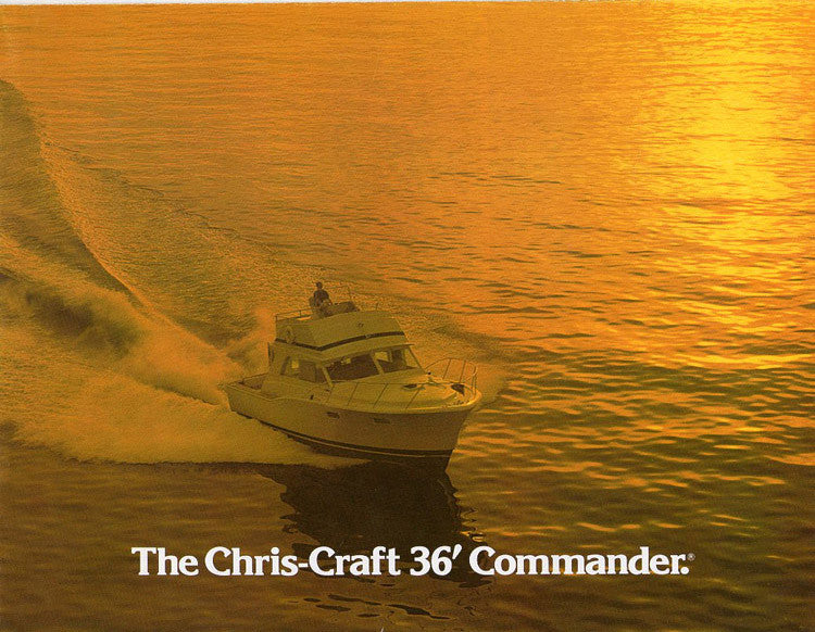 Chris Craft Commander 36 Brochure