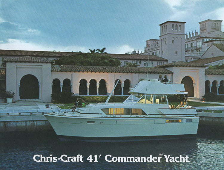 Chris Craft Commander Yacht 41 Brochure