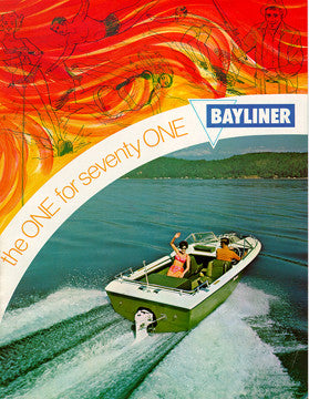 Bayliner 1971 Brochure