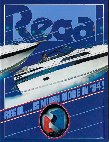 Regal 1984 Brochure