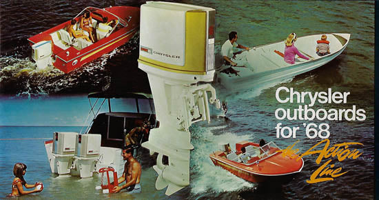 Chrysler 1968 Outboard Brochure