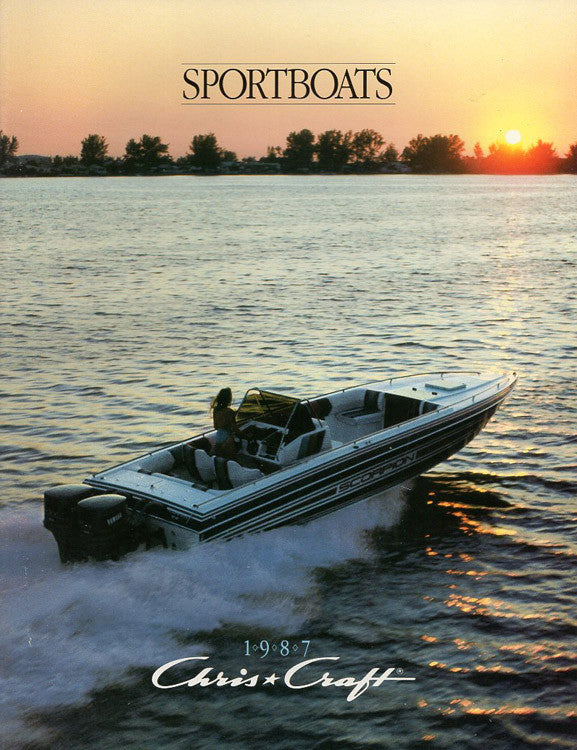 Chris Craft 1987 Sport Boats Brochure