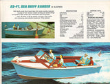 Chris Craft 1961 Sea Skiff Brochure
