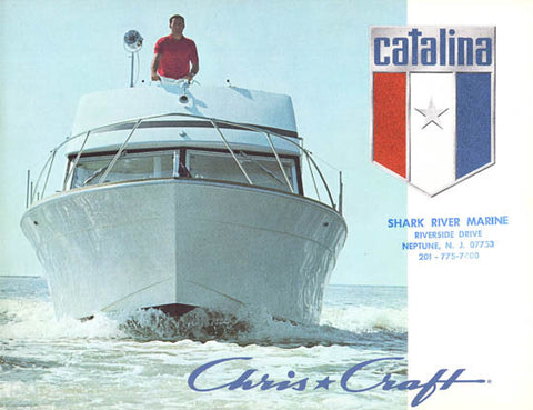 Chris Craft 1972 Catalina Brochure