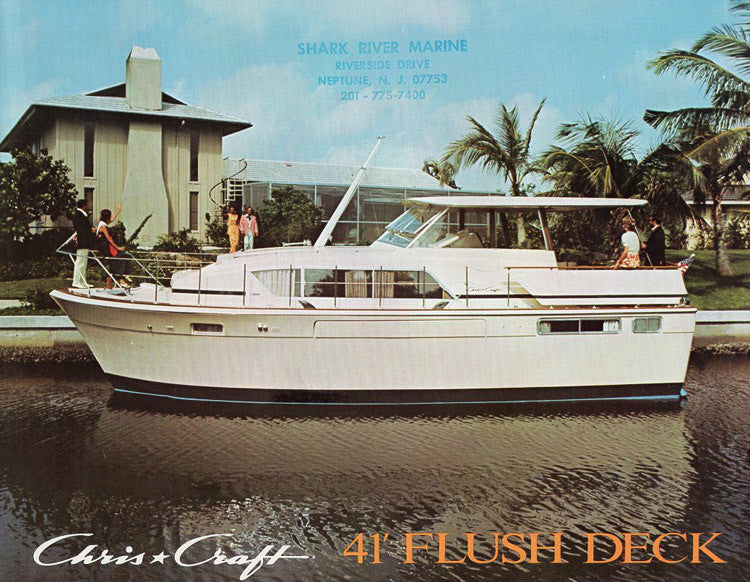 Chris Craft Flush Deck 41 Brochure