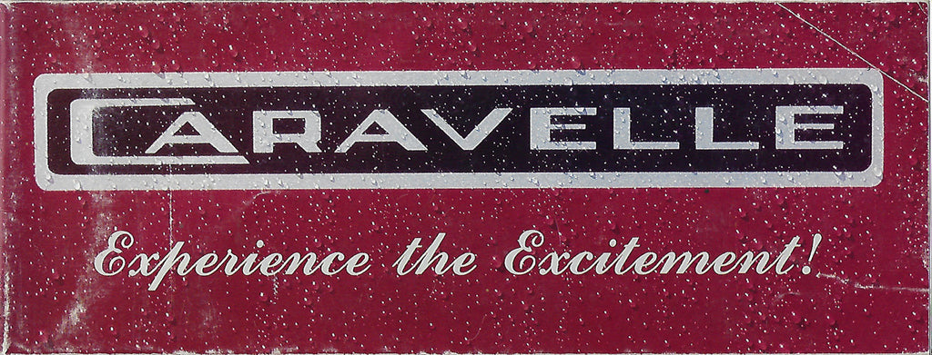Caravelle 1988 Poster Brochure