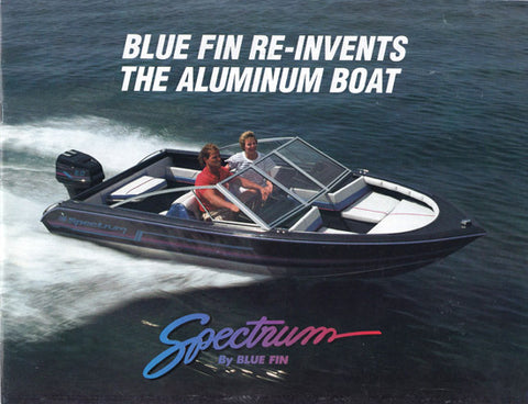 Blue Fin 1989 Spectrum Brochure