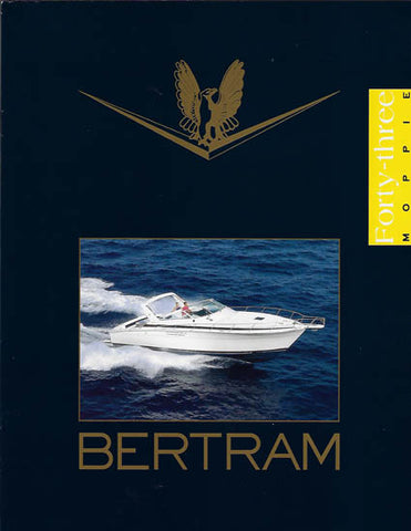 Bertram 43 Moppie Brochure